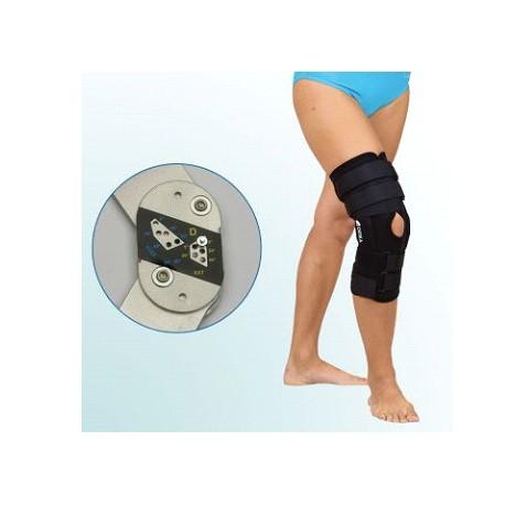 Ortéza OR1 kolenného kĺbu slimitovaným rozsahom ohybu